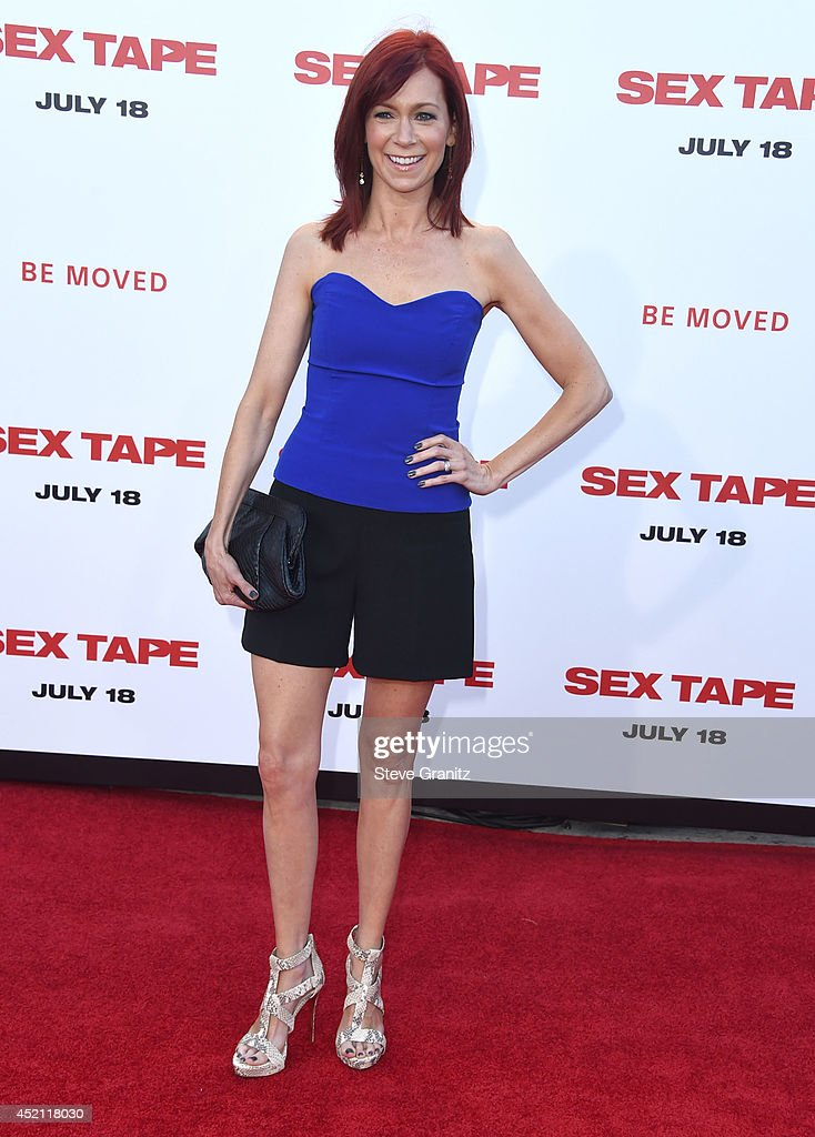 Carrie Preston arrives at the 'Sex Tape' - Los Angeles Premiere at Regency Village Theatre on July 10, 2014 in Westwood, California.