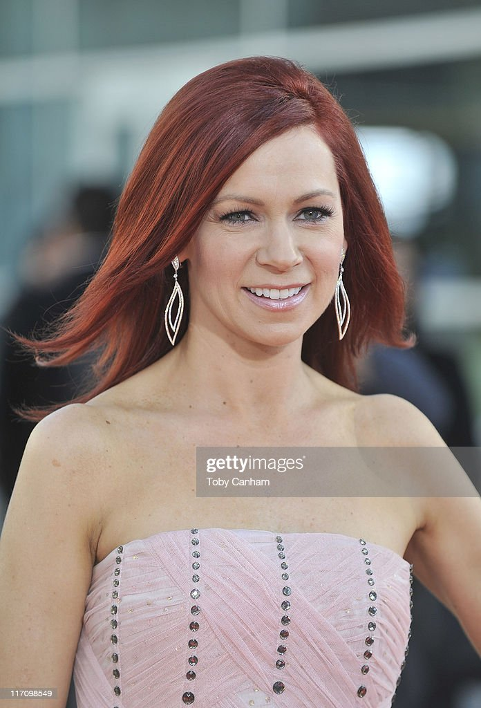Carrie Preston arrives for the premiere of HBO's 'True Blood' held at the Arclight Cinerama Dome on June 21, 2011 in Los Angeles, California.
