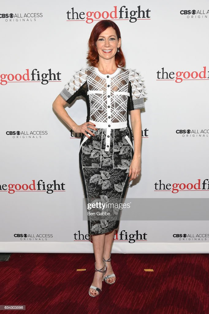 Carrie Preston attends the 'The Good Fight' World Premiere at Jazz at Lincoln Center on February 8, 2017 in New York City.