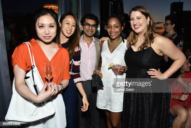 Carrie Sun Jessica Pan Samkalp Malhotra Sylvie Armand and Sarah Lassar attend The Junior Board of The TEAK Fellowship Presents A Midsummer Night at...
