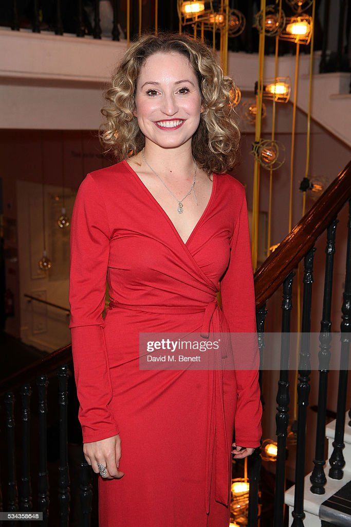 Carrie Taylor Johnson attends the press night after party for 'Jekyll Hyde' at The Old Vic Theatre on May 25 2016 in London England