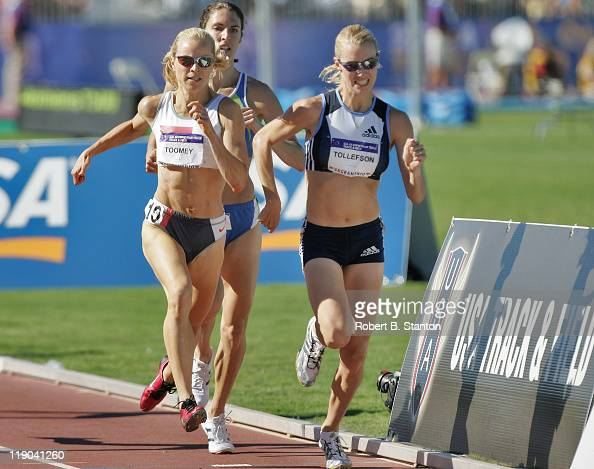 Carrie Tolleson fought off Jen Toomey to win the women's 1500m at the US Olympic Track Field Trials California State University SacramentoHornet...