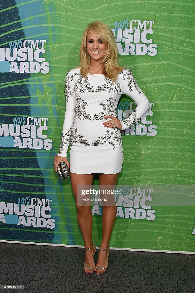<a gi-track='captionPersonalityLinkClicked' href=/galleries/search?phrase=Carrie+Underwood&family=editorial&specificpeople=204483 ng-click='$event.stopPropagation()'>Carrie Underwood</a> attends the 2015 CMT Music awards at the Bridgestone Arena on June 10, 2015 in Nashville, Tennessee.