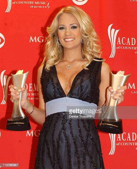 Carrie Underwood during 41st Annual Academy of Country Music Awards Press Room at MGM Grand in Las Vegas Nevada United States