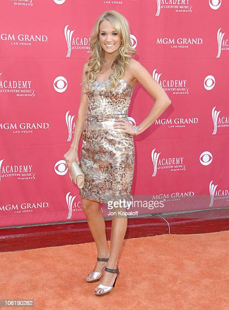Carrie Underwood during 42nd Academy of Country Music Awards Arrivals at MGM Grand Hotel and Casino Resort in Las Vegas Nevada United States