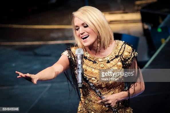 Carrie Underwood performs during The Storyteller Tour at The Canadian Tire Centre on May 27 2016 in Kanata Canada