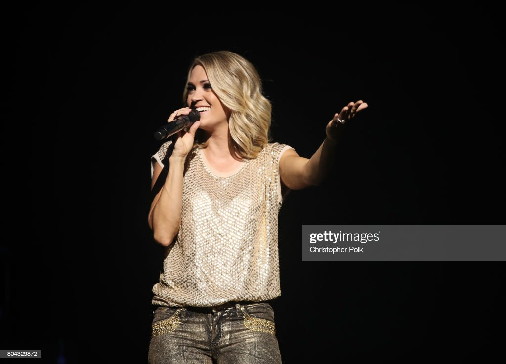 Carrie Underwood performs live exclusively for American Airlines AAdvantage® Mastercard® credit card holders at The Orpheum Theatre on Thursday, June 29, 2017 in Los Angeles, California. #milesmakememories