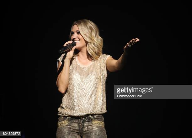 Carrie Underwood performs live exclusively for American Airlines AAdvantage® Mastercard® credit card holders at The Orpheum Theatre on Thursday June...