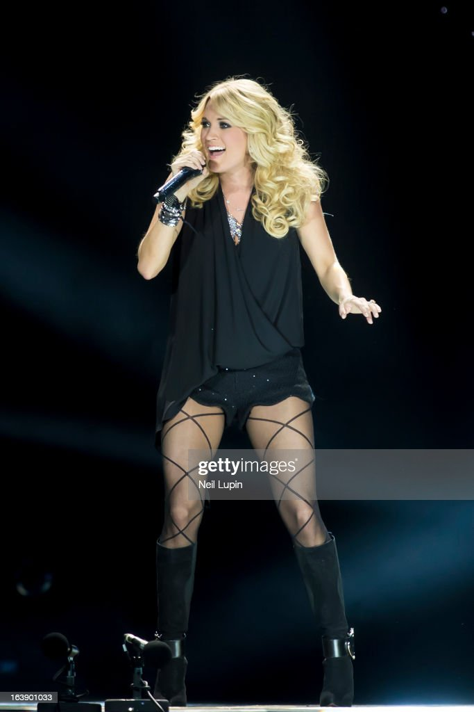 Carrie Underwood performs on stage on Day 2 of C2C: Country To Country Festival 2013 at O2 Arena on March 17, 2013 in London, England.