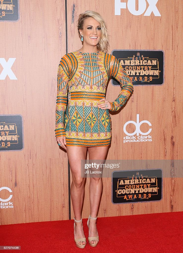 <a gi-track='captionPersonalityLinkClicked' href=/galleries/search?phrase=Carrie+Underwood&family=editorial&specificpeople=204483 ng-click='$event.stopPropagation()'>Carrie Underwood</a> poses in the press room during the 2016 American Country Countdown Awards at The Forum on May 1, 2016 in Inglewood, California.
