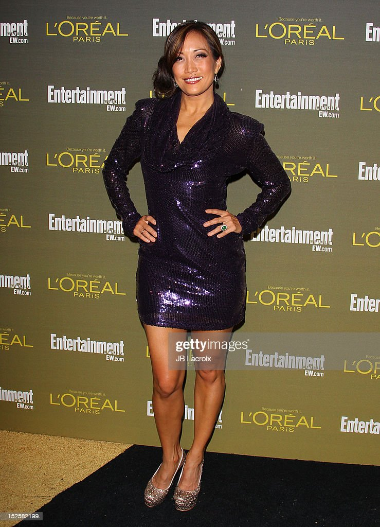 Carrie-Ann Inaba attends the 2012 Entertainment Weekly Pre-Emmy Party at Fig & Olive Melrose Place on September 21, 2012 in West Hollywood, California.
