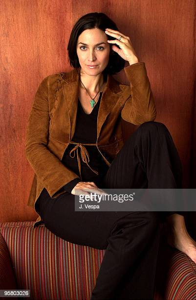 CarrieAnne Moss 25th Toronto International Film Festival Day 4 Courthouse Restaurant Toronto Ontario Canada September 10 2000