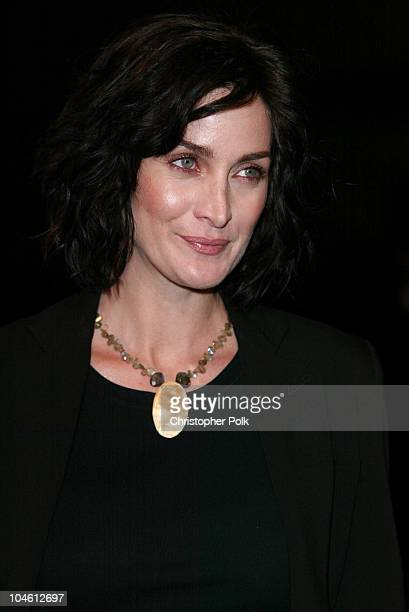 CarrieAnne Moss during 'Final Flight Of The Osiris' World Premiere at Warner Bros in Burbank CA United States