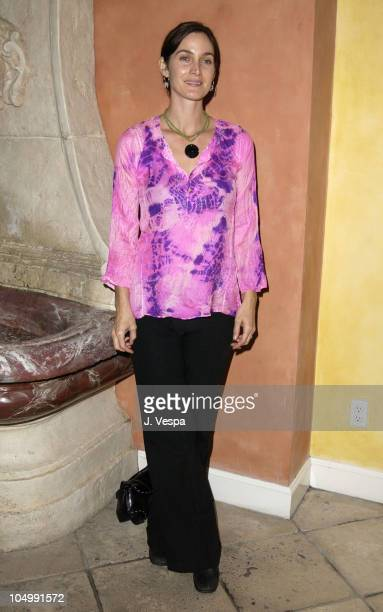 CarrieAnne Moss during Frederic Fekkai's 'Night of Beauty Jewelry and Fun' to Benefit Hands of Change at Frederic Fekkai Salon in Beverly Hills...