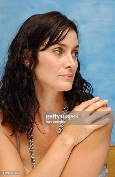 CarrieAnne Moss during 'Suspect Zero' Press Conference with CarrieAnne Moss Aaron Eckhart and E Elias Merhige at Four Seasons Hotel in Beverly Hills...