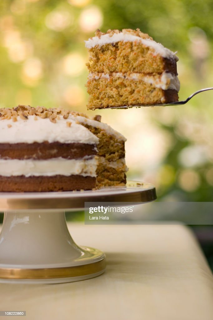 Carrot Cake : Stock Photo