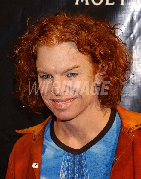 Carrot Top During Justin Timberlake Album Release Party For His
