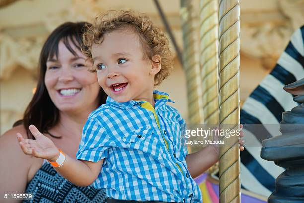 Carrousel - Toddler And Mommy