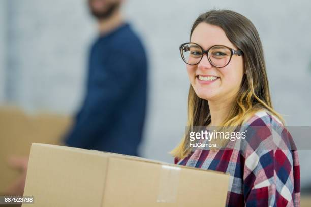 Die Box im neuen Zuhause