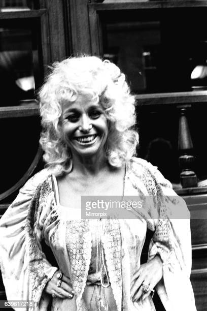 Carryon actress Barbara Windsor outside the Threatre Royal Newcastle on 7th August 1980 where she is appearing in the pantomime Jack and the Beanstalk