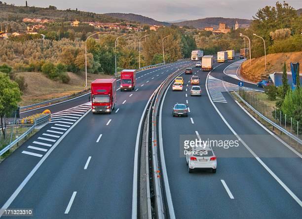 Verkehr Autobahn Italien