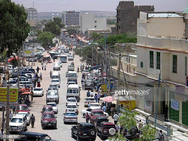 Cars clog a main road in Hargeisa capital of the breakaway region of Somaliland The region has taken a lead role in fighting piracy and the...