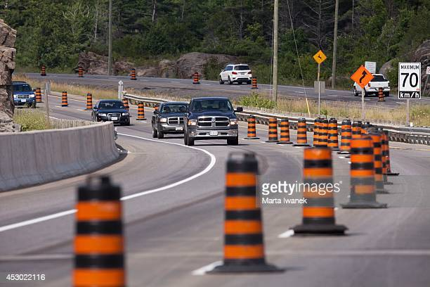 GRAVENHURST ON JULY 31 Cars drive over the Gull Lake Narrows bridge which is soon to be fully open after two years of construction in Gravenhurst...
