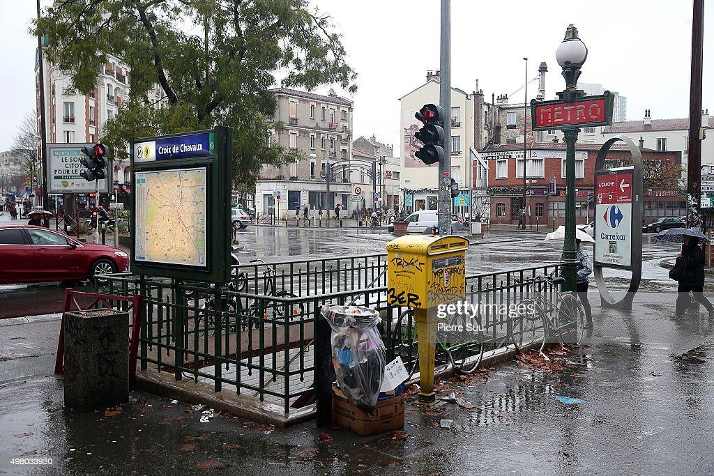 Paris on high alert as the french capital recovers from - Piscine de croix de chavaux ...