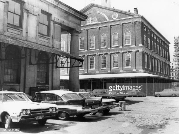 Cars in downtown Boston May 3 1967