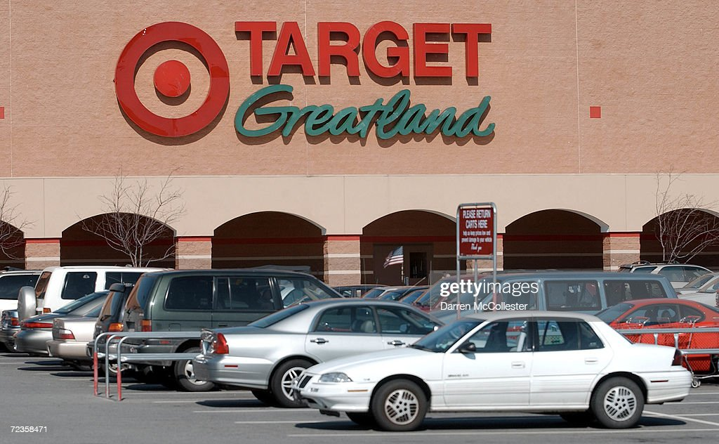 Cars line the parking lot at a Target discount storeFebruary 26, 2002 in Danvers, MA. Target Corp. stock ended the days trading up 2.23% at 45.75.