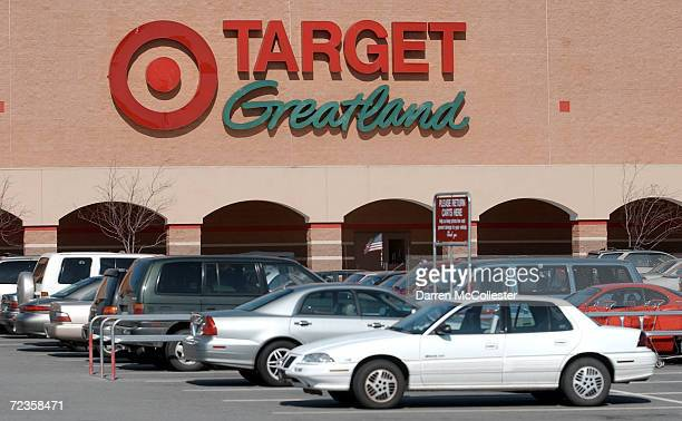 Cars line the parking lot at a Target discount storeFebruary 26 2002 in Danvers MA Target Corp stock ended the days trading up 223% at 4575