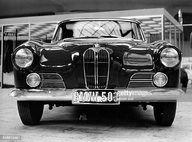 BMW 503 at an exhibition 1960 Photographer Jochen Blume Vintage property of ullstein bild