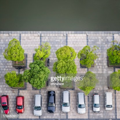 Cars on a Parking Lot
