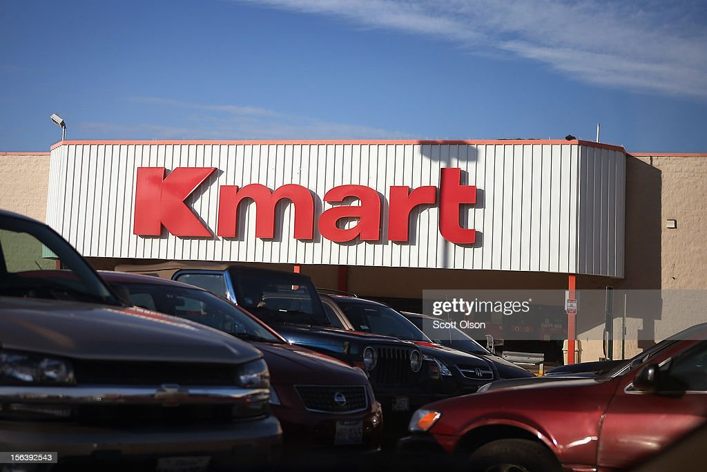Cars sit in the parking lot of a Kmart store on November 14, 2012 in Chicago, Illinois. Sears Holdings (SHLD), which owns Kmart, will report 3rd quarter earnings tomorrow afternoon. After a lackluster 2011 holiday season the retailer announced plans to close 120 Sears and Kmart stores.