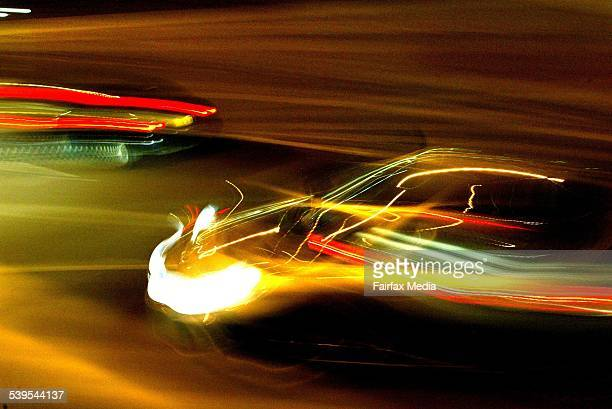 Cars travelling on a highway in Sydney 19 June 2003 AFR GENERIC Picture by ROB HOMER