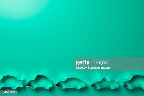 Car-Shaped Cookie Cutters : Stock Photo