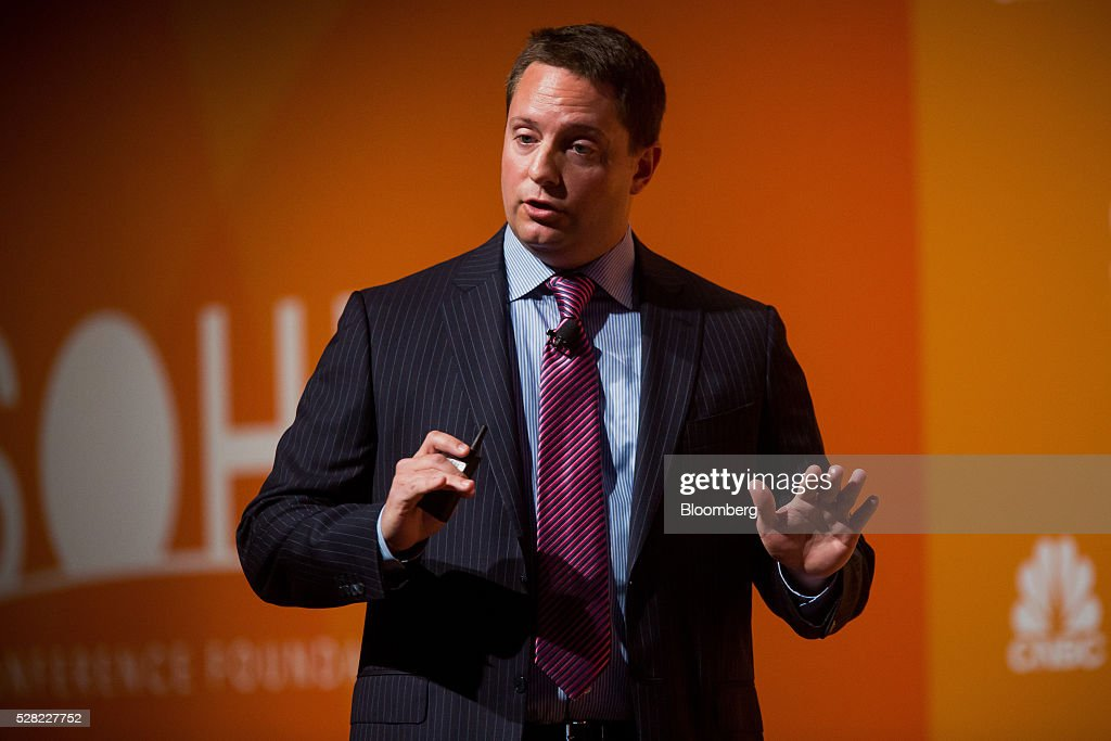 Carson Block, founder and director of Muddy Waters Capital LLC, speaks during the 21st annual Sohn Investment Conference in New York, U.S., on Wednesday, May 4, 2015. Since 1996 the Sohn Investment Conference has brought together the world's savviest investors to share fresh insights and strategies in support of pediatric cancer research and treatment. Photographer: Michael Nagle/Bloomberg via Getty Images