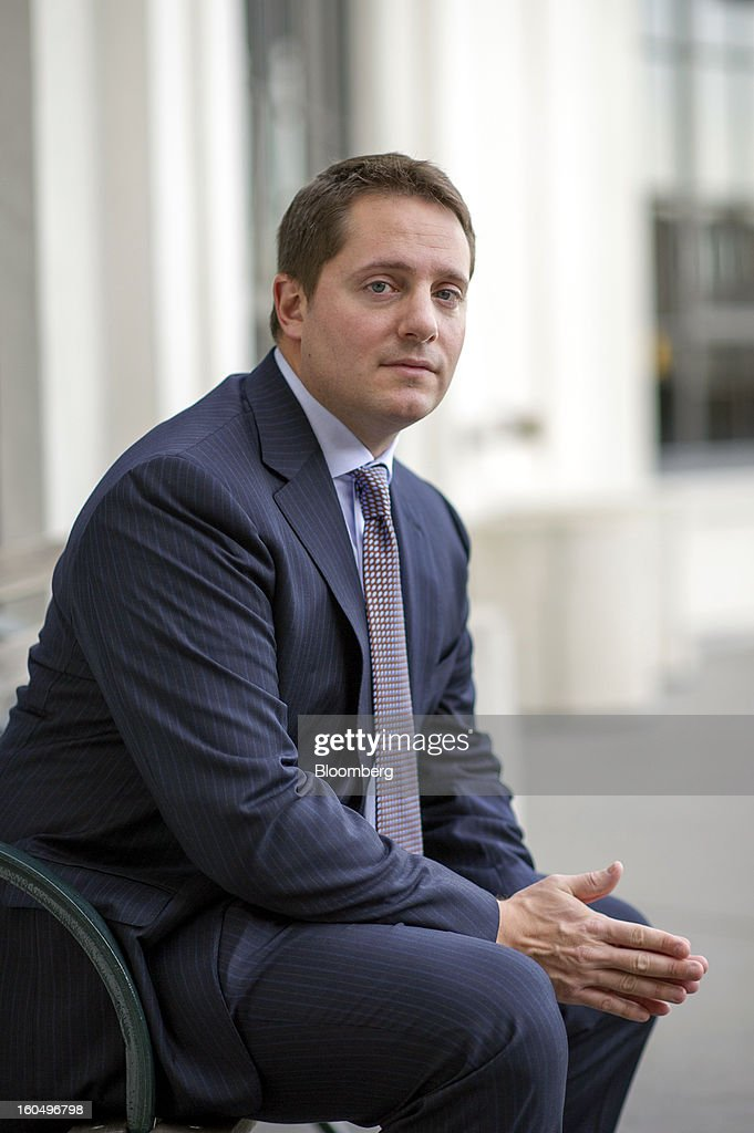 Carson Block, founder and research director at Muddy Waters LLC, sits for a photograph after a Bloomberg Television interview in San Francisco, California, U.S., on Friday, Feb. 1, 2013. Block discussed a hoax Tweet that sent shares of Audience Inc. as much as 25 percent lower. Photographer: David Paul Morris/Bloomberg via Getty Images