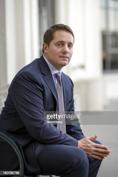 Carson Block founder and research director at Muddy Waters LLC sits for a photograph after a Bloomberg Television interview in San Francisco...