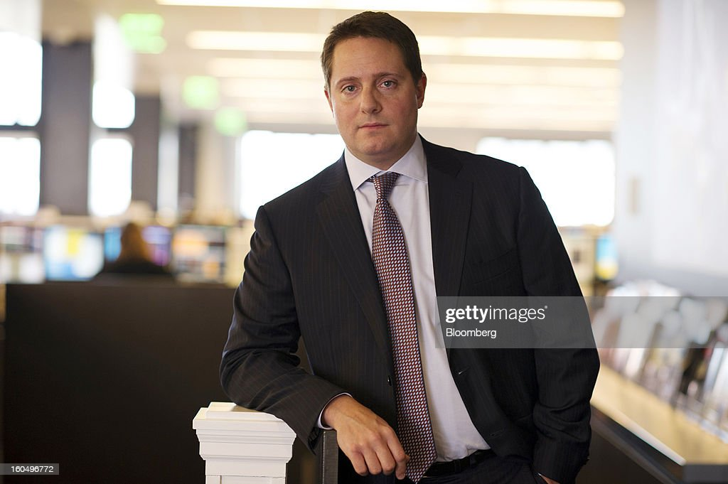 Carson Block, founder and research director at Muddy Waters LLC, stands for a photograph after a Bloomberg Television interview in San Francisco, California, U.S., on Friday, Feb. 1, 2013. Block discussed a hoax Tweet that sent shares of Audience Inc. as much as 25 percent lower. Photographer: David Paul Morris/Bloomberg via Getty Images