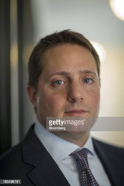 Carson Block founder and research director at Muddy Waters LLC stands for a photograph after a Bloomberg Television interview in San Francisco...