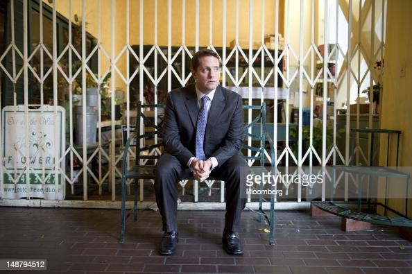 Carson Block research director and founder of Muddy Waters LLC sits for a photograph after an interview in San Francisco California US on Thursday...