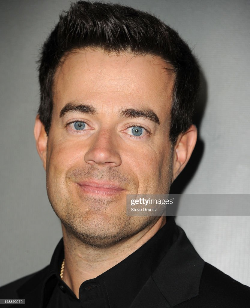 <a gi-track='captionPersonalityLinkClicked' href=/galleries/search?phrase=Carson+Daly&family=editorial&specificpeople=202941 ng-click='$event.stopPropagation()'>Carson Daly</a> arrives at the NBC's 'The Voice' Season 4 Premiere at House of Blues Sunset Strip on May 8, 2013 in West Hollywood, California.