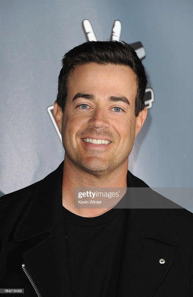 <a gi-track='captionPersonalityLinkClicked' href=/galleries/search?phrase=Carson+Daly&family=editorial&specificpeople=202941 ng-click='$event.stopPropagation()'>Carson Daly</a> arrives at the screening of NBC's 'The Voice' Season 4 at TCL Chinese Theatre on March 20, 2013 in Hollywood, California.