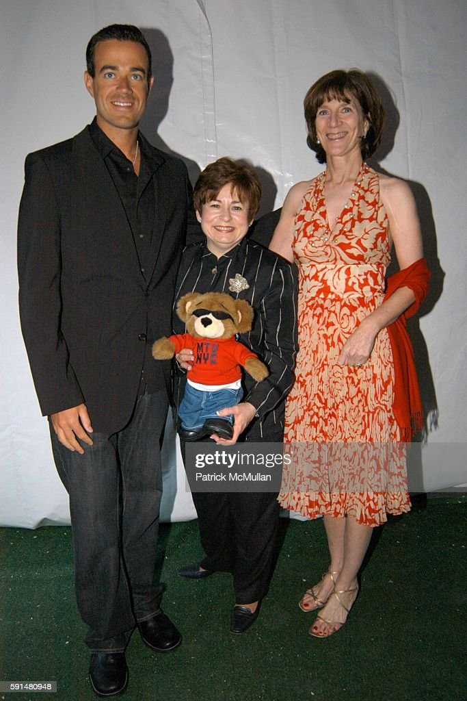 Carson Daly Maxine Clark and Jenny Morgenthau attend Fresh Air Fund Salute To American Heroes at Tavern On the Green on June 2 2005 in New York City