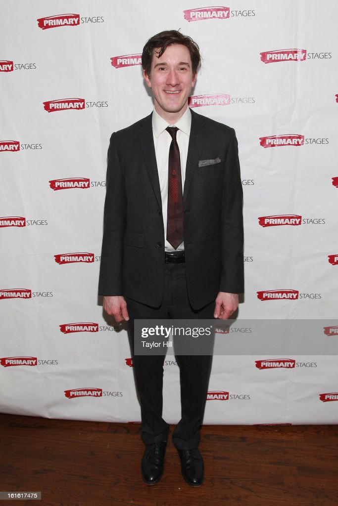 Carson Elrod attends the 'All In The Timing' 20th Anniversary Opening Night Reception at The Volstead on February 12, 2013 in New York City.