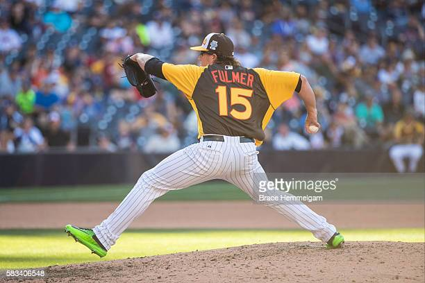 Carson Fulmer of the Chicago White Sox and Team USA pitches during the SiriusXM AllStar Futures Game Petco Park on Tuesday July 10 2016 in San Diego...