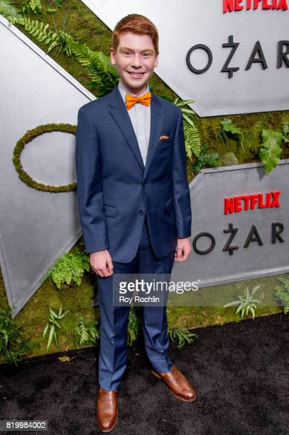 Carson Holmes attends the 'Ozark' New York Screening at The Metrograph on July 20 2017 in New York City