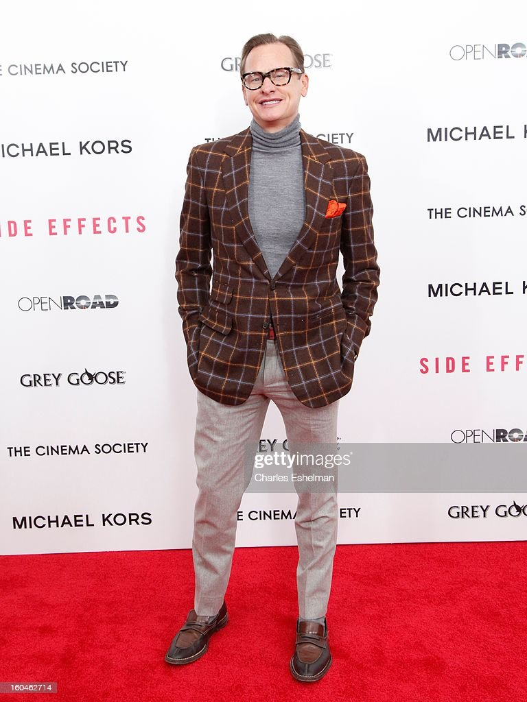 Carson Kessley attends the Open Road, The Cinema Society & Michael Kors premiere of 'Side Effects' at AMC Loews Lincoln Square on January 31, 2013 in New York City.