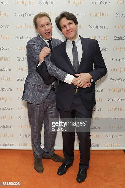 Carson Kressley and Dr Dennis Gross attend the 'SculpSure Day with the Denim Doctor' event with Dr Dennis Gross hosted by celebrity style expert...